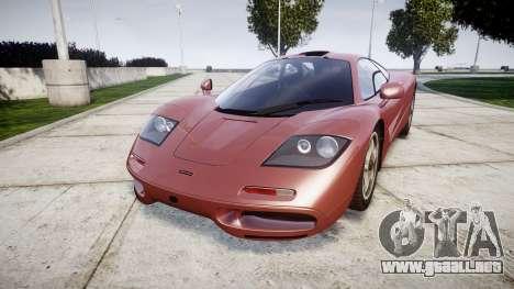 Mclaren F1 1993 [EPM] para GTA 4