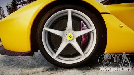 Ferrari LaFerrari [EPM] v1.2 para GTA 4 vista hacia atrás