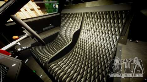 Ford GT40 Mark IV 1967 PJ Meyer 30 para GTA 4 vista interior