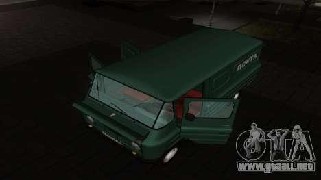 Zuk A06 para GTA San Andreas vista posterior izquierda