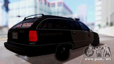 SD Chevy Caprice Station Wagon 1993 (1996) para GTA San Andreas left