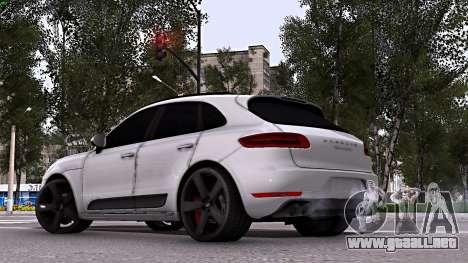 Porsche Macan para GTA San Andreas left