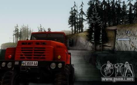 Pista de off-road 3.0 para GTA San Andreas quinta pantalla