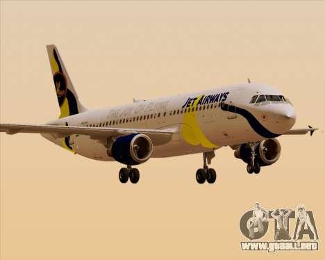 Airbus A320-200 Jet Airways para GTA San Andreas