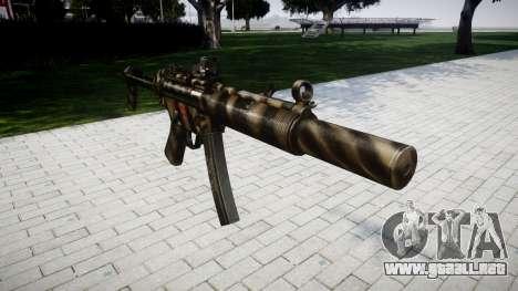Pistola de MP5SD DRS FS para GTA 4