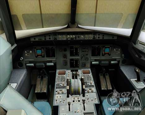 Airbus A320-200 Zest Air para GTA San Andreas interior