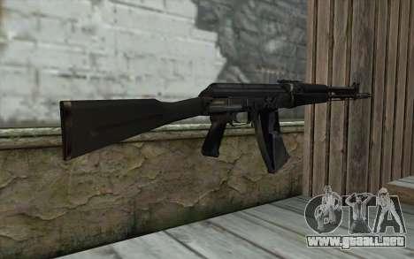 АК-107 de S.T.A.L.K.E.R para GTA San Andreas segunda pantalla