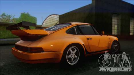 Porsche 911 Turbo 1982 Tunable KIT C PJ para GTA San Andreas vista hacia atrás