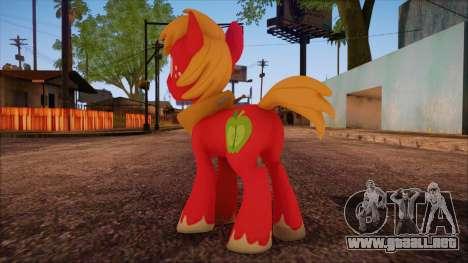 Big Macintosh from My Little Pony para GTA San Andreas segunda pantalla