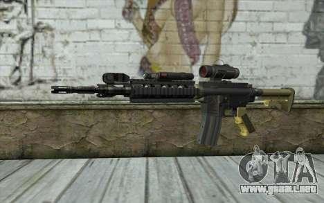 M4 MGS Aimpoint v2 para GTA San Andreas