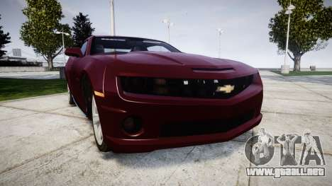 Chevrolet Camaro SS [ELS] Unmarked runners para GTA 4
