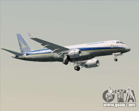 Embraer E-190-200LR House Livery para la vista superior GTA San Andreas