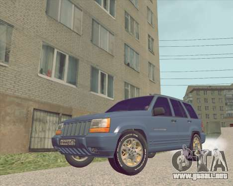 Jeep Grand Cherokee ZJ para GTA San Andreas