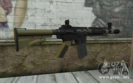 M4 MGS Iron Sight v1 para GTA San Andreas segunda pantalla