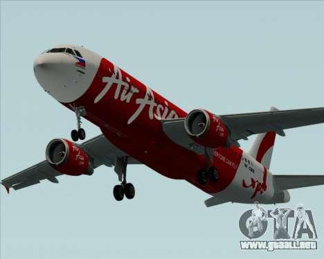 Airbus A320-200 Air Asia Philippines para el motor de GTA San Andreas