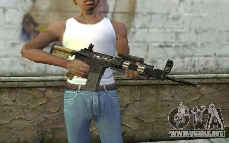 M4 MGS Aimpoint v1 para GTA San Andreas tercera pantalla