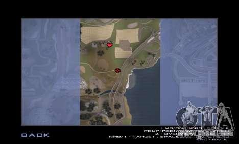 Pista de off-road 3.0 para GTA San Andreas décimo de pantalla