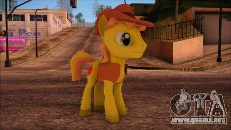 Braeburn from My Little Pony para GTA San Andreas