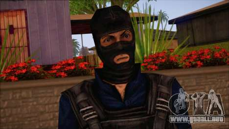 Terror from Counter Strike Condition Zero para GTA San Andreas tercera pantalla