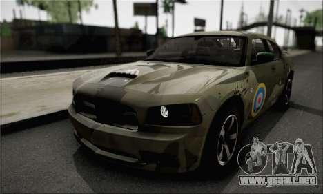 Dodge Charger SuperBee para visión interna GTA San Andreas