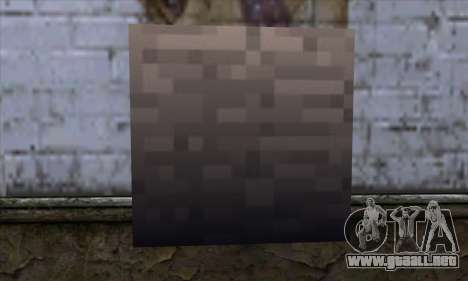 Bloque (Minecraft) v13 para GTA San Andreas