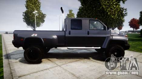 GMC C4500 TopKick 2007 Ironhide para GTA 4 left