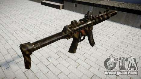 Pistola de MP5SD DRS FS para GTA 4 segundos de pantalla