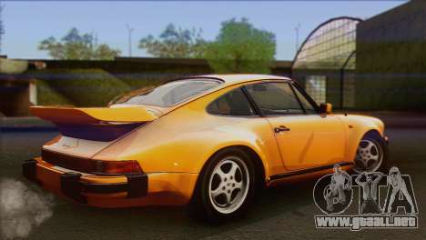 Porsche 911 Turbo 1982 Tunable KIT C PJ para GTA San Andreas left