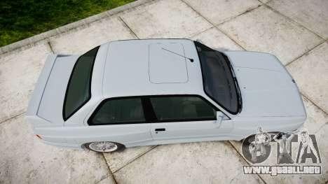 BMW M3 E30 1991 [EPM] para GTA 4 visión correcta