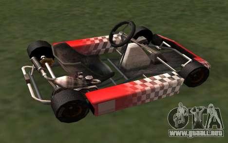 Actualizado Kart para GTA San Andreas para GTA San Andreas left