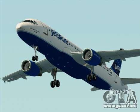 Airbus A320-200 JetBlue Airways para el motor de GTA San Andreas