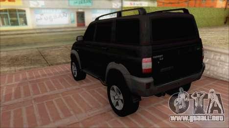 UAZ Patriot para GTA San Andreas left