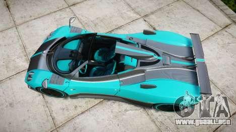 Pagani Zonda Uno para GTA 4 visión correcta