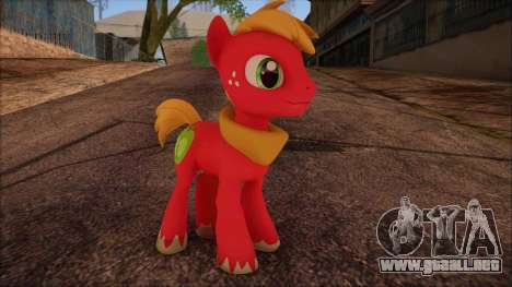 Big Macintosh from My Little Pony para GTA San Andreas