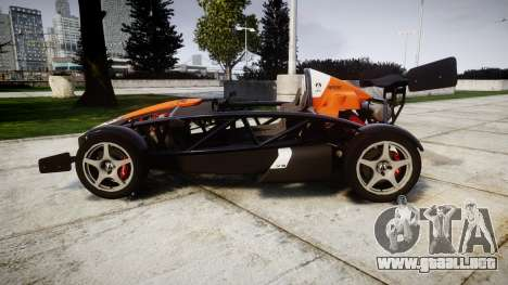 Ariel Atom V8 2010 [RIV] v1.1 SptCar para GTA 4 left