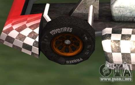 Actualizado Kart para GTA San Andreas para la visión correcta GTA San Andreas
