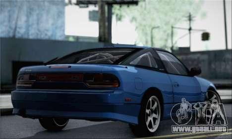 Nissan 180SX Facelift Silvia S15 para GTA San Andreas left