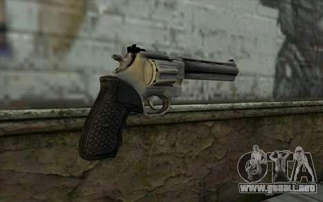 Revolver from Max Payne 3 para GTA San Andreas segunda pantalla