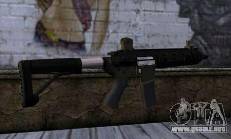 Carbine Rifle from GTA 5 v2 para GTA San Andreas segunda pantalla