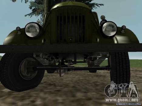 GAZ-69 para GTA San Andreas vista posterior izquierda