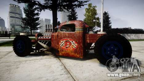 Dumont Type 47 Rat Rod PJ2 para GTA 4 left