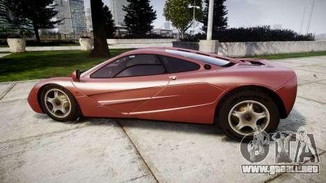 Mclaren F1 1993 [EPM] para GTA 4 left