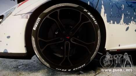McLaren 650S Spider 2014 [EPM] v2.0 UK para GTA 4 vista hacia atrás