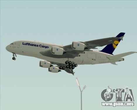 Airbus A380-800F Lufthansa Cargo para GTA San Andreas
