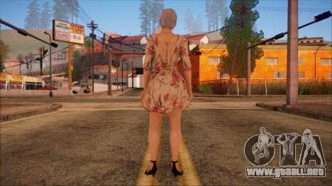 Modern Woman Skin 1 para GTA San Andreas segunda pantalla
