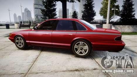 Vapid Stanier Rims Minivan para GTA 4 left