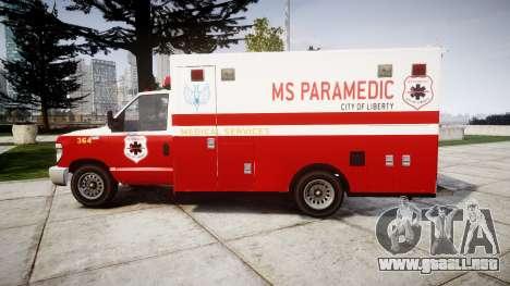 Vapid V-240 Ambulance para GTA 4 left