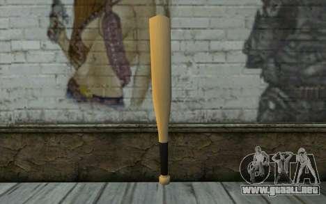 New Bat HQ para GTA San Andreas segunda pantalla