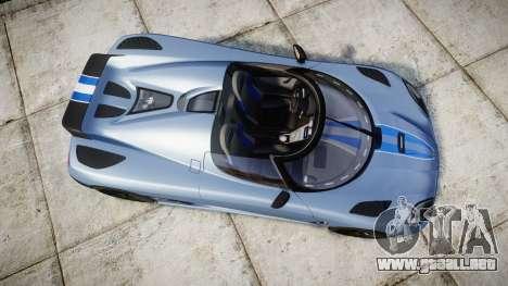 Koenigsegg Agera 2011 [EPM] [Update] para GTA 4 visión correcta