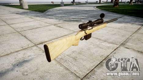 Rifle de francotirador con texturas HQ para GTA 4 segundos de pantalla